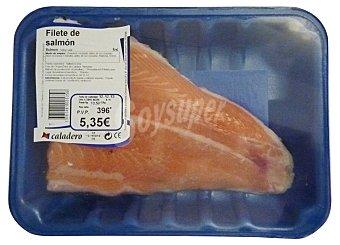 VARIOS Salmón fresco filete Bandeja 400 g peso aprox.
