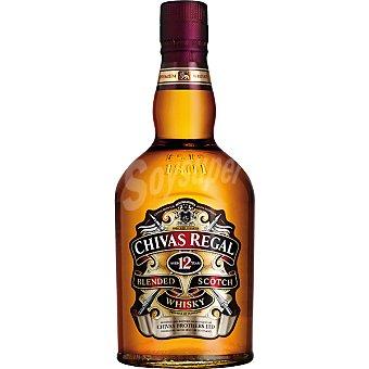 Chivas Regal whisky escocés 12 años  botella 70 cl