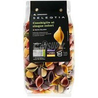Eroski Seleqtia Conchiglie Ai Cinque Colori Eroski Paquete 500 g
