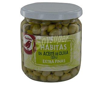 Producto Alcampo Habitas en aceite de oliva /33 %) Frasco de 220 gramos