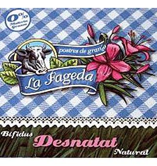 La Fageda Yogurt bifidus desn 4 UNI