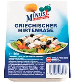 MinusL Queso fetta Sin Lactosa 150 g