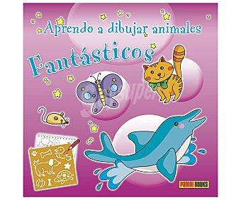 Panini Cuaderno de actividades Aprendo a dibujar animales fantásticos, incluye plantillas. Género: infantil, actividades. Editorial Panini. Descuento ya incluido en pvp. PVP anterior: