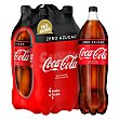 Bebida de cola Pack 4 x 2 l Coca-Cola Zero