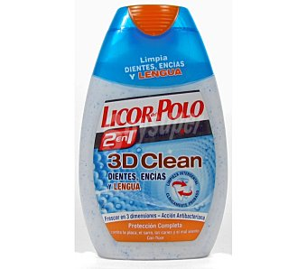 Licor del Polo Crema dental 2&1 power clean 75 ML