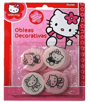 Küchle Obleas decorativas Hello Kitty 1 envase de 8 gr