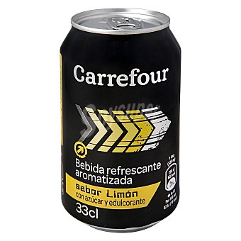 Carrefour Refresco isotónico de limón 33 cl