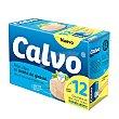 Atún Claro en aceite vegetal Pack de 12x52 g Calvo