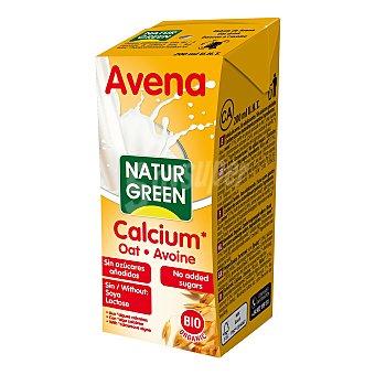 Naturgreen Bebida de avena y calcio bio 200 ml