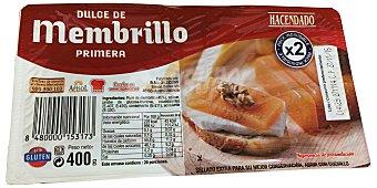 Hacendado Membrillo (dulce de membrillo) Paquete 400 g