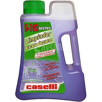 Caselli Limpiador neutro ecologico fragancia citrico para suelo porcelanico gres y granito botella 1 l Botella 1 l