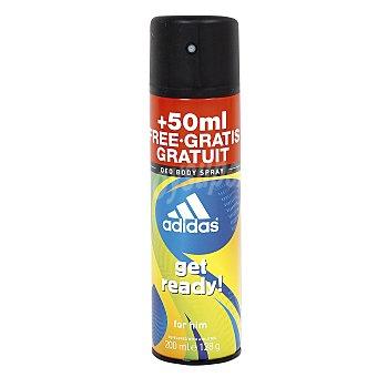 Adidas Desodorante get ready fragancia fresca y exótica spray 150 ml Spray 150 ml