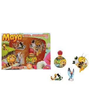 Abeja Maya Estuche colonia + adhesivos + identificador mochila 1 ud