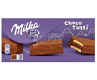 Milka Pastelito relleno de chocolate 150 gramos
