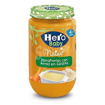 Hero Baby Tarrito Zanahorias con Arroz en Caldito 235 gr