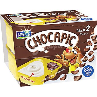 Chocapic Nestlé Yogur con chocapic Pack de 2x118 g