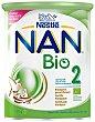 Leche infantil de continuación desde 6 meses en polvo ecológica Bio 2 lata 800 G 800 g Nan Nestlé