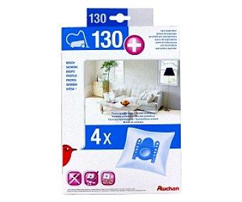 Auchan Bolsa Aspirador 4 unidades