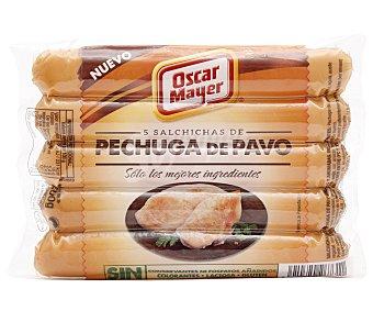 Oscar Mayer Salchichas pechuga de pavo Paquete 200 g