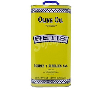 Betis Aceite de oliva 0,4º sabor suave 5 l