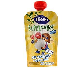 Hero Bolsita de yogur griego con frutos del bosque 120 gramos