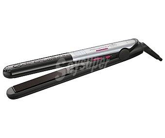 Rowenta Plancha alisadora de pelo liss&curl Elite SF4522, cerámico, temperatura max. 230ºC, placas de 11x2,5 cm, pantalla SF 4522