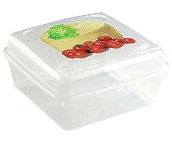 A FUEGO LENTO Recipiente hermético para queso bola, 15x15x7,5 centímetros 1 unidad