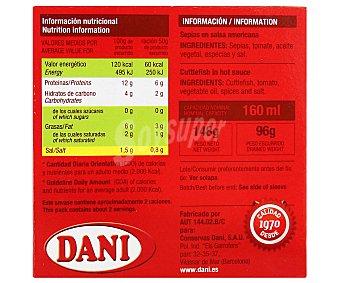 Dani Sepia salsa americana 120 g