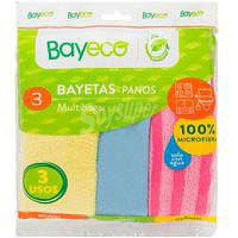 Bayeco Bayetas multihogar Pack 3 unid