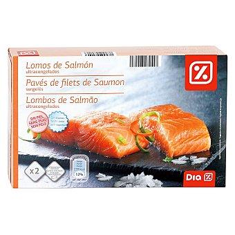 DIA Lomos de salmón Caja 250 gr