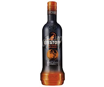 ERSITOFF BLOOD ORANGE Vodka premium con sabor a naranjas sanguinas Botella de 70 centilitros