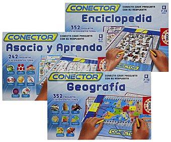 EDUCA Juegos de Mesa Electrónicos Conetor, Incluye más de 300 Preguntas Diferentes 1 Unidad