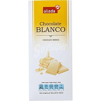 Aliada Chocolate blanco Tableta 100 g