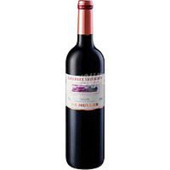 De Mulle Vino Tinto Cabernet Sauvinon Tarragon Botella 75 cl