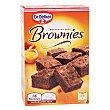 preparado para brownies 16 raciones con molde incluido estuche 456 g Dr. Oetker
