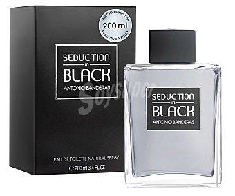 BLACK Fragancia de caballero 200 mililitros