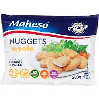 Maheso Nuggets sin gluten Caja 300 g