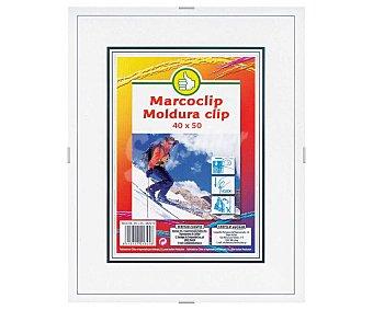 Productos Económicos Alcampo Marco de 40x50cm con cierre de clip alcampo