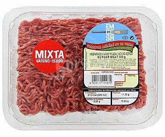 Emcesa Preparado de carne picada mixta Bandeja de 350 gramos
