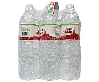 San Millán Agua Mineral Pack 6 Unidades de 1,5 Litros