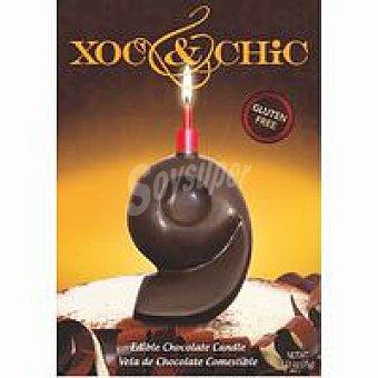 Xoc & Chic Vela de chocolate Nº 9 1 unid