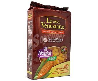 Le Veneziane Pasta de maíz sin gluten con forma de espirales Paquete 250 g
