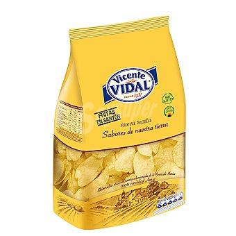 Vicente Vidal Patatas fritas artesanas fritas en sartén bolsa 200 gr Bolsa 200 gr