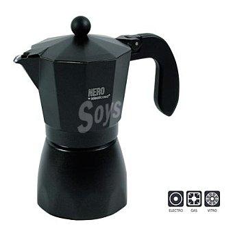 IDEALCASA Cafetera modelo italiana 6 tazas 1 unidad