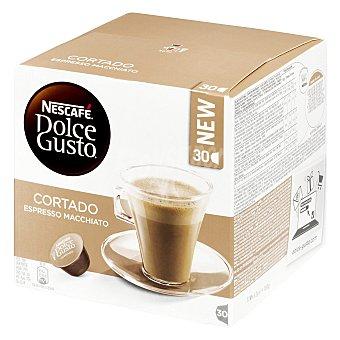 Dolce Gusto Nescafé Café cortado espresso macchiato 30 cápsulas
