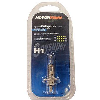 MOTORTOWN H1 12 V 55 W Lámpara universal de cruce y carretera de un filamento para automóvil