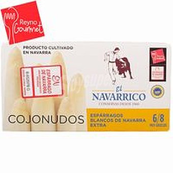 Navarrico Espárrago extra IGP Navarra 6/8 frutos Lata 250 g