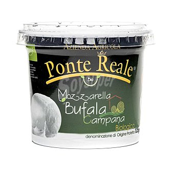 Campana Queso Mozzarella de búfala ecológica Hispano Italiana 125 g