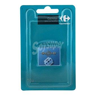 Carrefour Kit cuchilla corta callos 10 uds