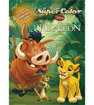 Disney El rey león Supercolor Disney